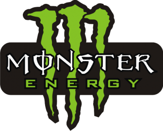 "Наклейка ""Monster energy"""