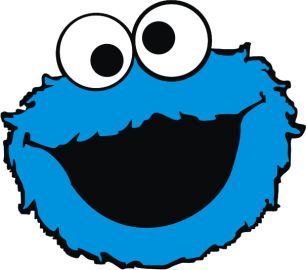 "Наклейка ""Cookie monster"""