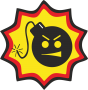"Наклейка ""Serious Sam logo"""