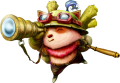 "Наклейка ""League of Legends,Teemo"""
